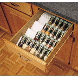 Rev-A-Shelf Trimmable Spice Drawer Insert