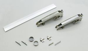 """Sugatsune Lateral Swing Hardware for 9/16"""" Overlay Larger Doors"""