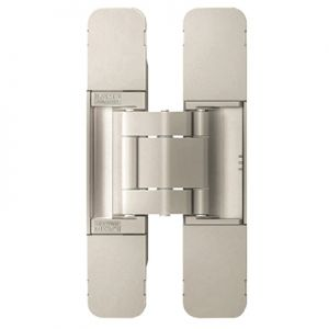 Sugatsune Heavy Duty Invisible Hinge HES3D-120 Dull Nickel