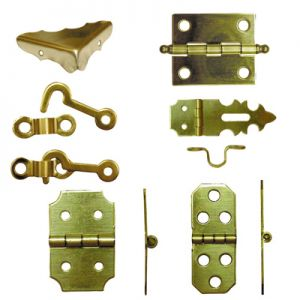 National Hardware Solid Brass Miniature Hardware