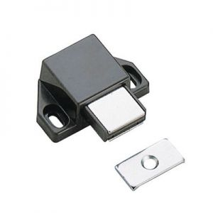 Sugatsune Magnetic Touch Latch for Small Doors Brown