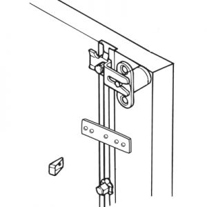 Timberline Side Mount Single Pedestal Gang Lock System