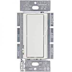 Lutron Diva CL Dimmer DVCL-153P-WH