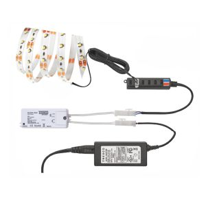Tresco Flexible Tape Light Kit 3watt Warm White