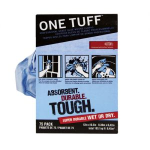 One Tuff Wipers 75 Count Rags