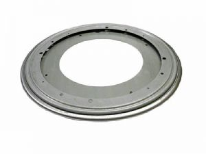 """Triangle Flat Lazy Susan Bearing 12"""" round with detent"""