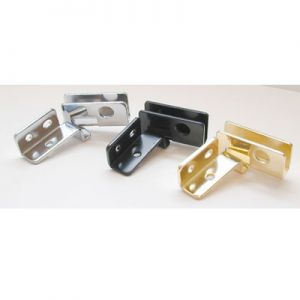 US Futaba 180° Overlay Glass Door Hinges