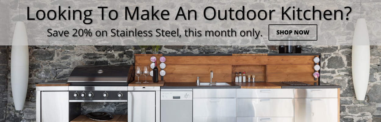 Looking to make an outdoor kitchen?