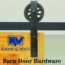 KV Barn Door Hardware