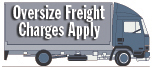 Oversize Freight Charges Apply